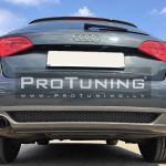 A4 B8 08 11 Rear Bumper Diffusor S Line Exhaust On The Left Side In Diffusers Skirts Buy Best Tuning Parts In Protuning Lv Store
