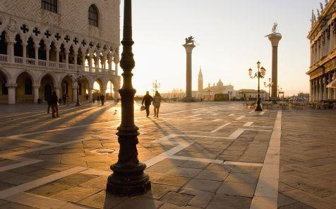 Alba su Piazza San Marco, Venezia (Sunrise on the Piazza San Mar