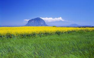 ??? ??? ? (Sanbang Mountain on Jeju Island)