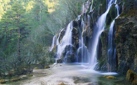 Cascada Rio Cuervo (Cascade at the Source of the Rio Cuervo)