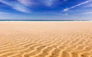 Playa Sotavento, Fuerteventura, Canarias (Sotavento's Beach, Fuerteventura, Canary Islands)