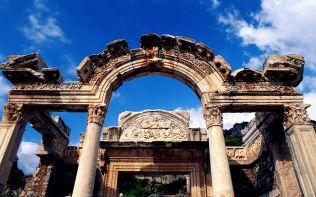 Hadrianus Tapinagi, Efes, Izmir, Türkiye (Temple of Hadrian, Eph