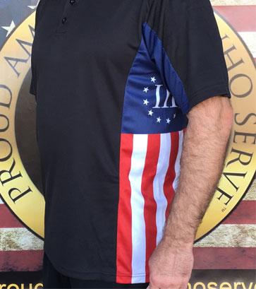 Colonial Patriot Polo Shirts