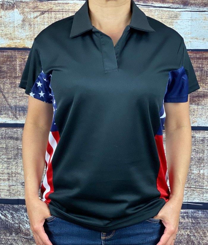 Texas American Polo Shirt for Women