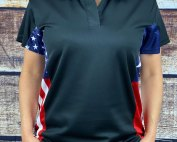 Texas American Polo Shirt for Women