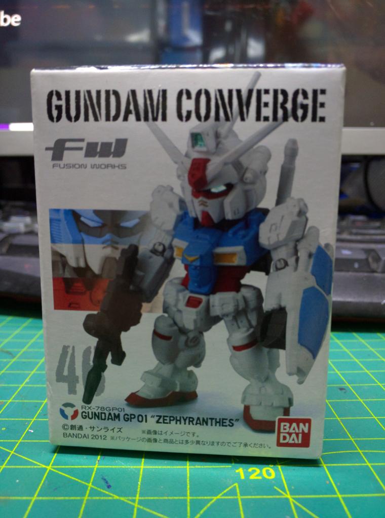 FW Gundam Converge GP01 Zephyranthes