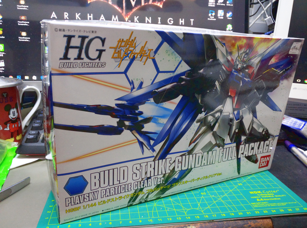 HGBF Build Strike Gundam Full Package – PP透明版
