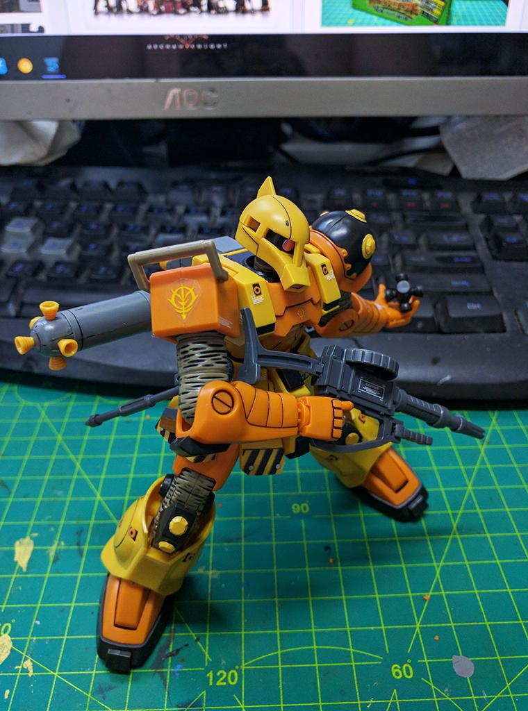 HGTB MS-05 渣古 I – Thunderbolt ver.【動畫版】