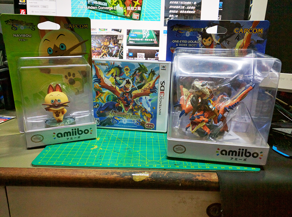 怪物獵人物語 Monster Hunter Stories w/ Amiibo