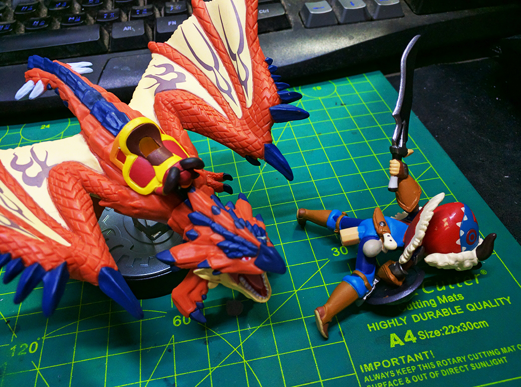 怪物獵人物語 Monster Hunter Story w/ Amiibo