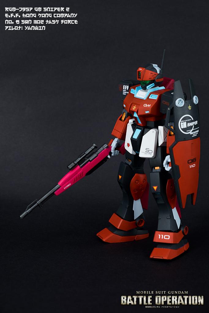 HGUC RGM-79SP GM Sniper II【激戰任務自我配色】