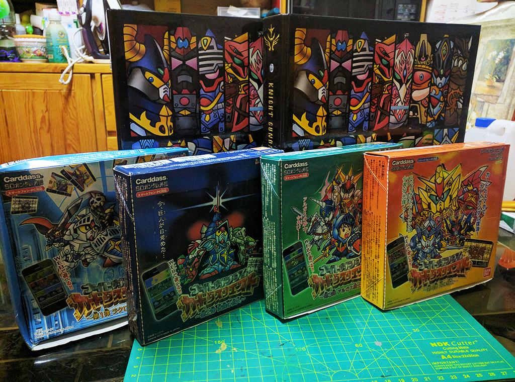 【完全收錄】騎士高達 Carddass Quest 第一彈 & 第二彈