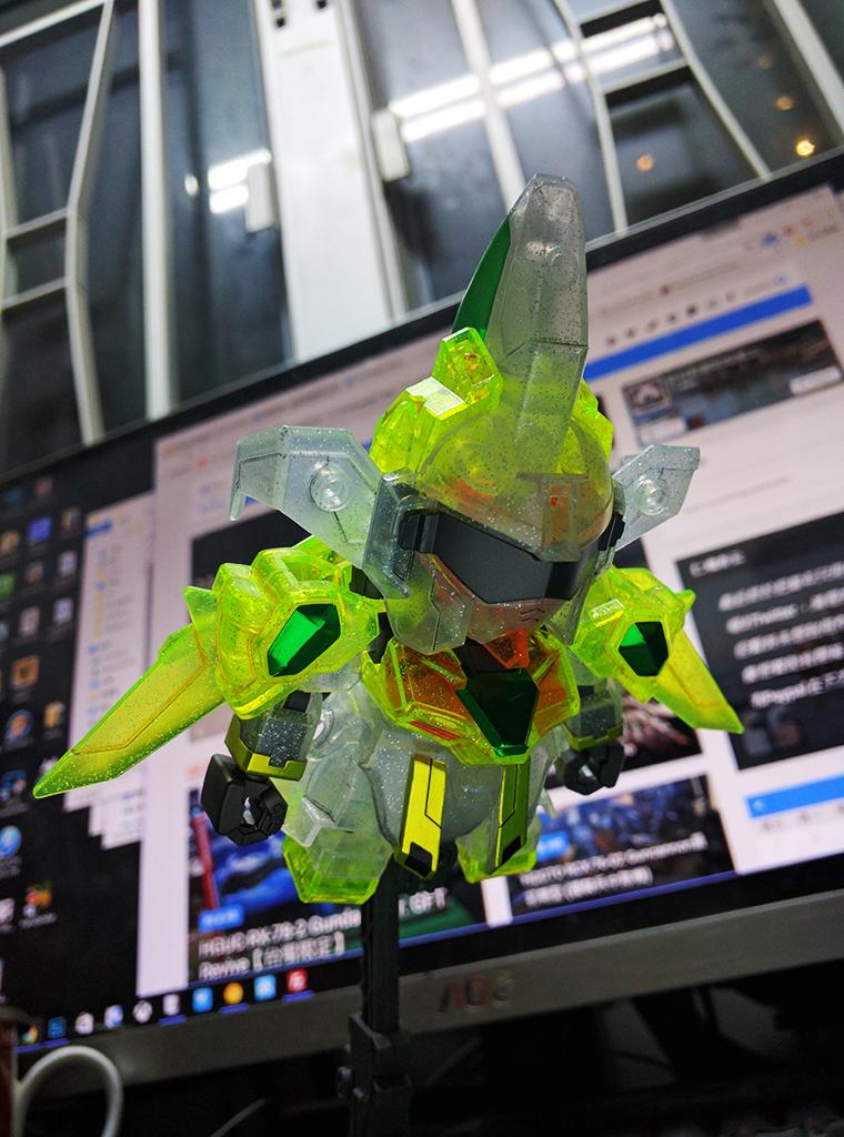 SDBF Star Winning Gundam - Plavsky粒子透明Ver.