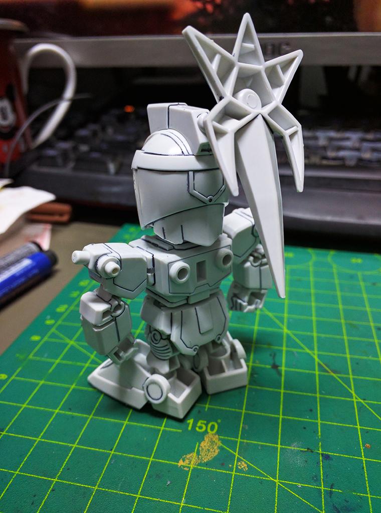 SD 劉備 Gundam & 真・劉備 Gundam (環保素材)【活動限定】