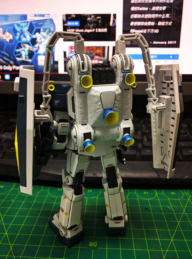 HGTB RGM-79 GM – Thunderbolt ver.【動畫版】