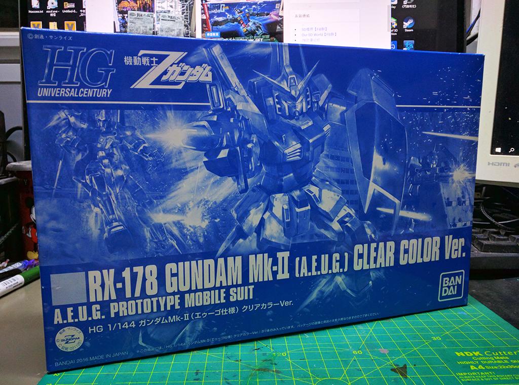 HGUC RX-178 Gundam MK.II (奧干規格) Revive – 彩透版