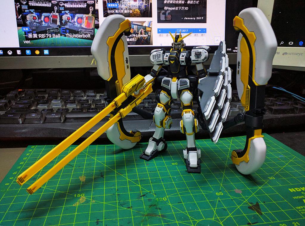 HGTB RX-78AL Atlas Gundam