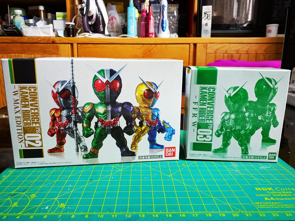 Converge Kamen Rider PB02 & 03 – W Max Edition & FFR W