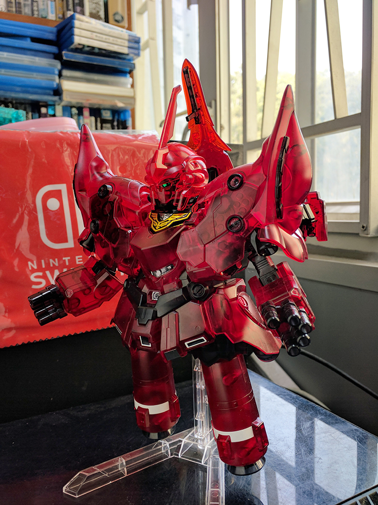 SD Full Armor Unicorn Gundam & Neo Zeong [彩透]【GBT限定】