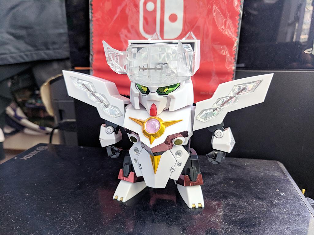 元祖SD高達 0092 - 機甲神奧費狂怒【五體之機甲神】