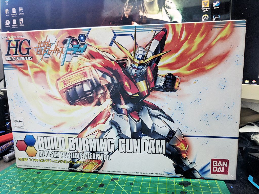 HGBF Build Burning Gundam [Plavsky粒子透明]
