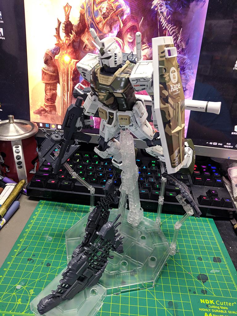 MG, RE & RG Debris Parts Set【GBT限定】
