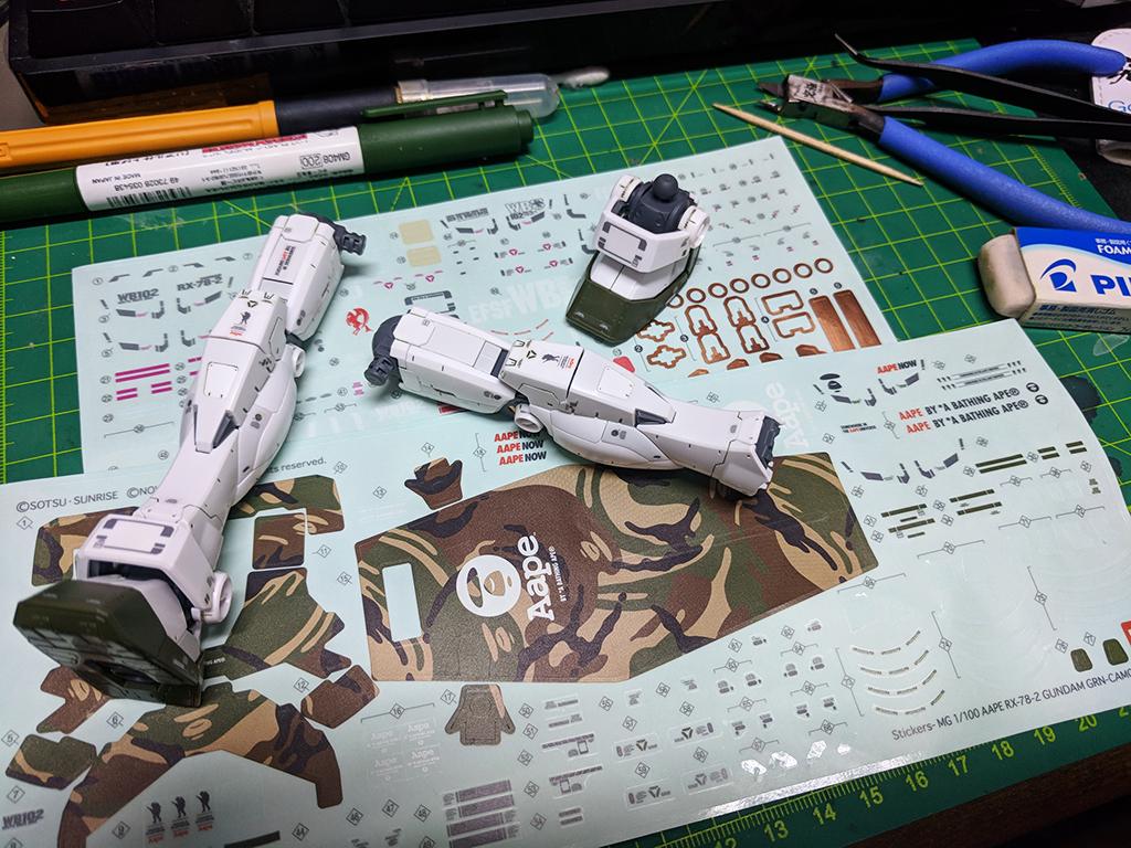 [Project-78] MG Aape RX-78-2 Gundam GRN-CAMO