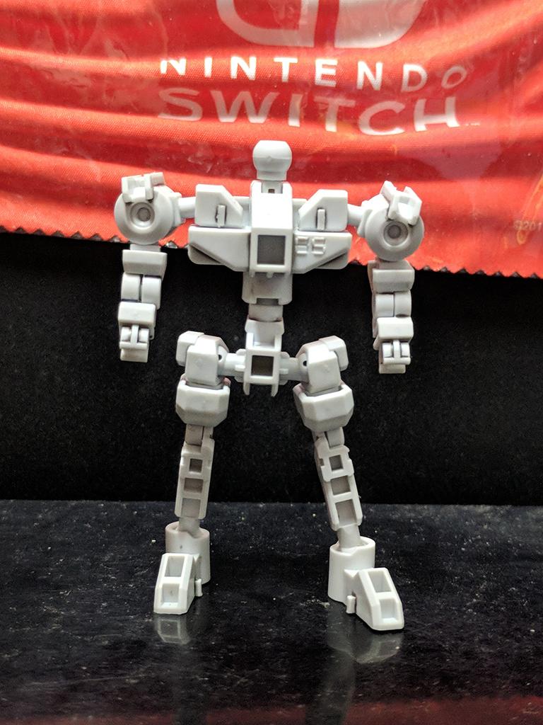 SDCS Cross Silhouette Frame [White]