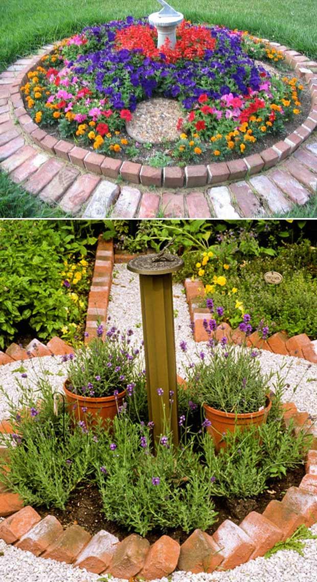 Best 24 Ideas for Using Bricks in Landscape on Brick Ideas For Backyard id=24203
