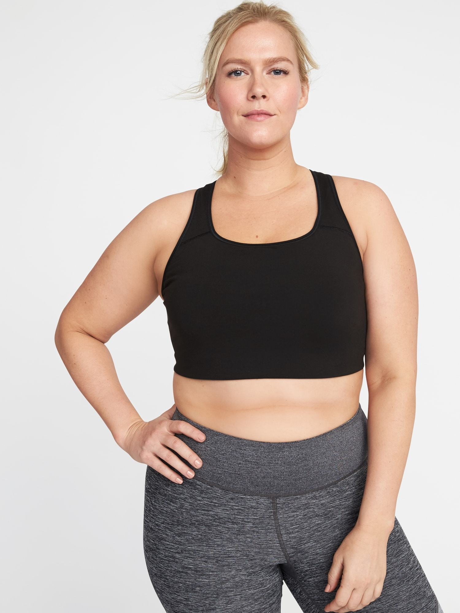 e93a66e1512c8 Medium Support Plus-Size Racerback Sports Bra by Old Navy - Proud Mary