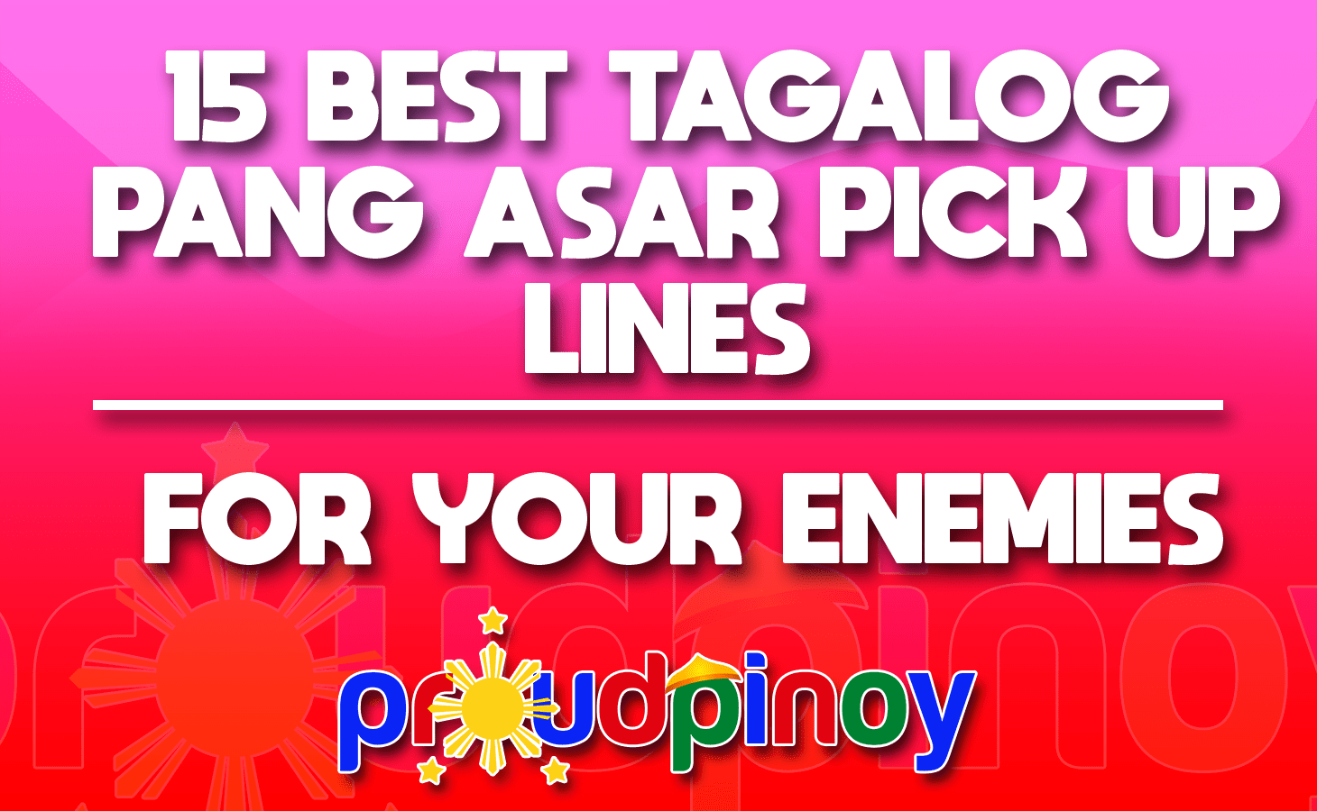 2021 love date lines pick up (!) tagalog 🥇 209+