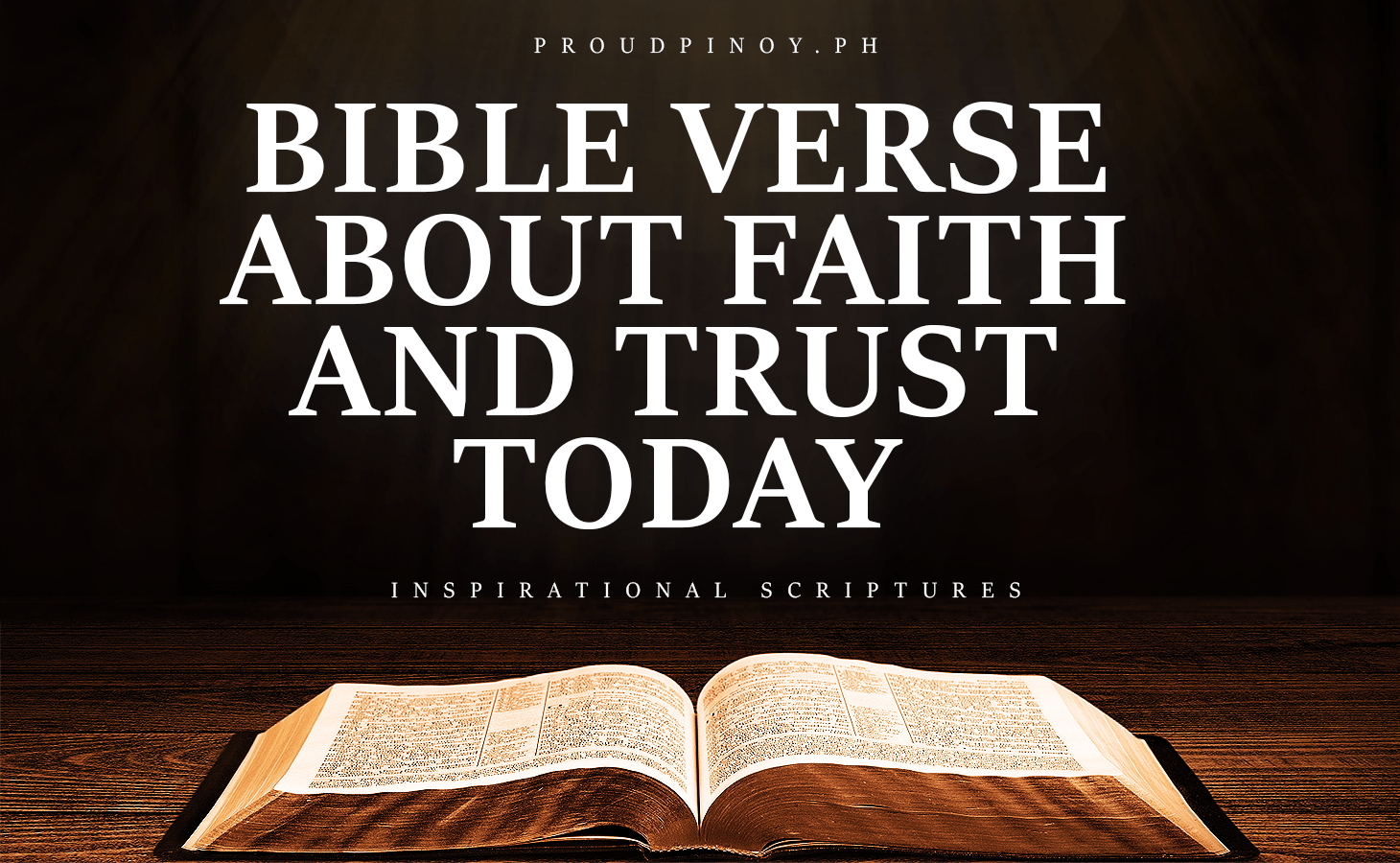 Bible Verse About Faith and Trust (Tagalog) | Explained