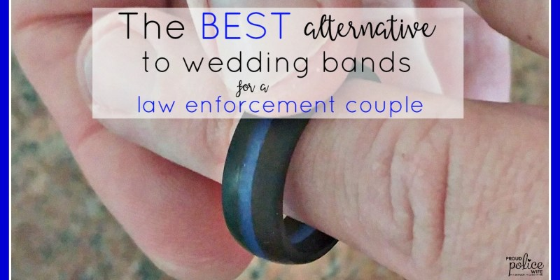 The BEST Alternative to Weddings Bands for a Law Enforcement Couple