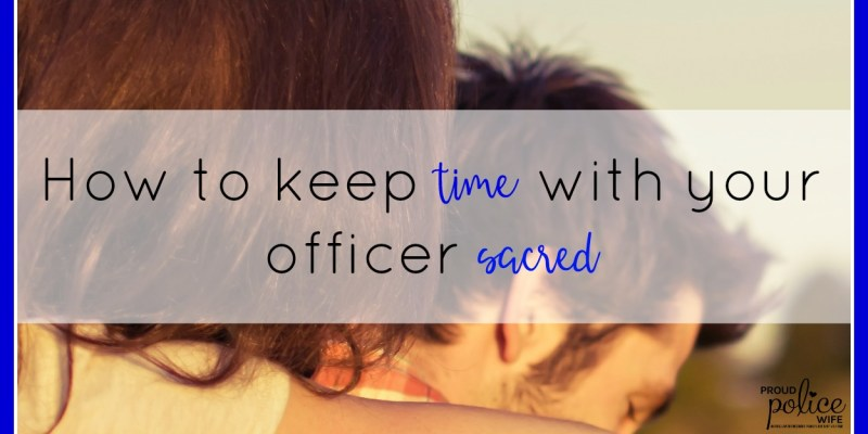 How to Keep Time with Your Officer Sacred
