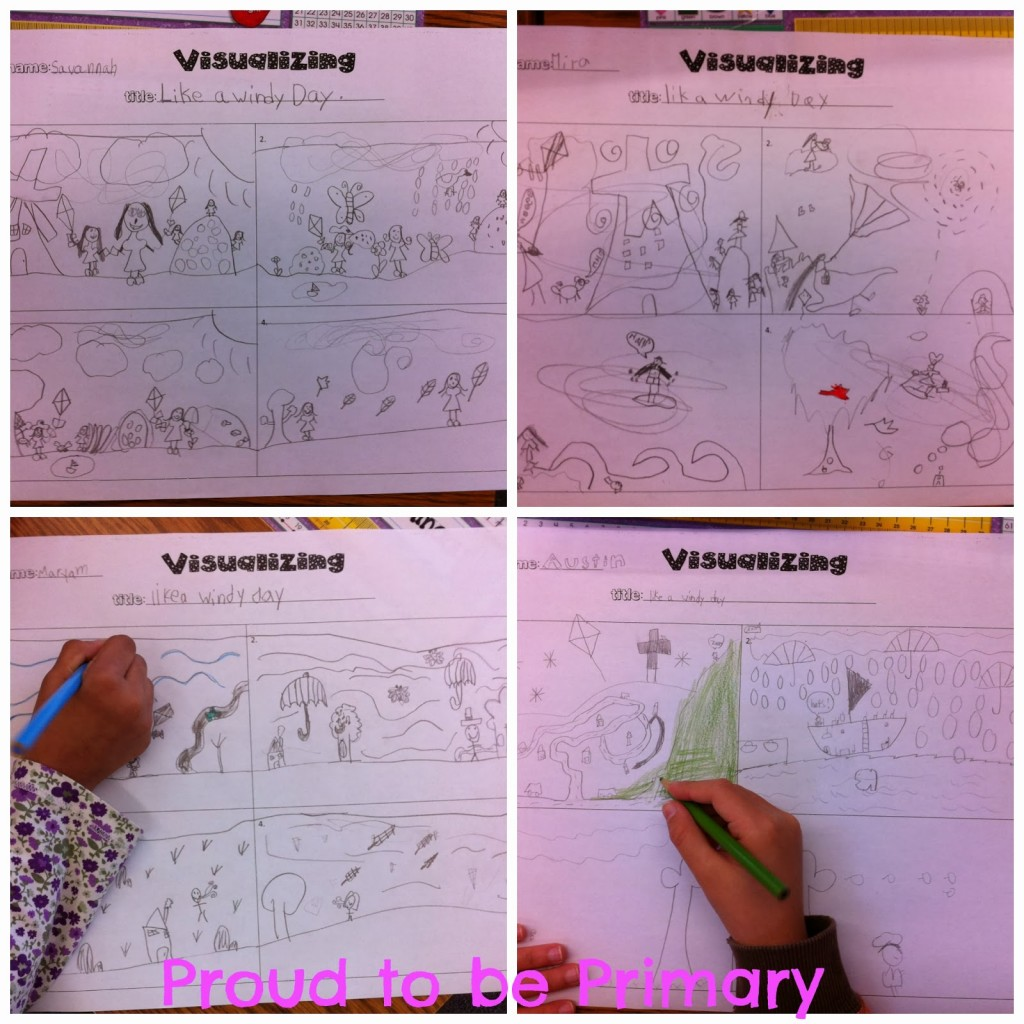 Teaching Children To Visualize To Build Reading Comprehension Proud To Be Primary
