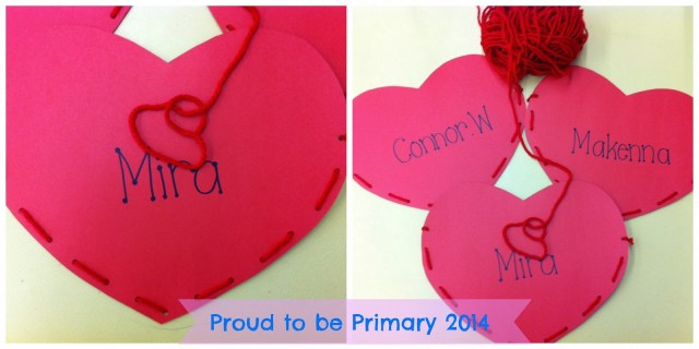 Primary and Kindergarten teachers will LOVE this how-to post and simple DIY heart pocket craft that is perfect for holding all the Valentine's Day treats and cards for children during your classroom celebration.