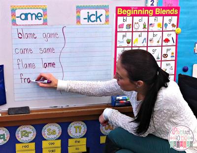 teaching a word study program