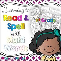 Learning to Read and Spell with Sight Words