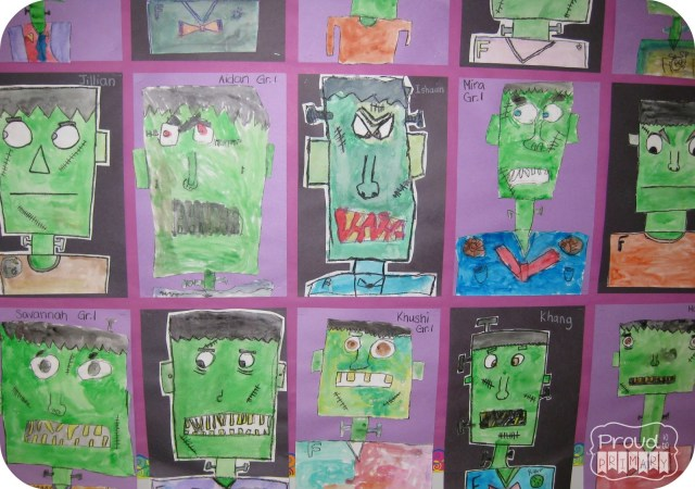 Complete this Frankenstein Franken-buddy directed drawing lesson with your class at school and create the perfect bulletin board display for Halloween. This makes a great Halloween activity for kids! YOU will love the BOO-TIFUL the results!