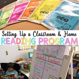 Home Reading: Setting up for Success from School to Home
