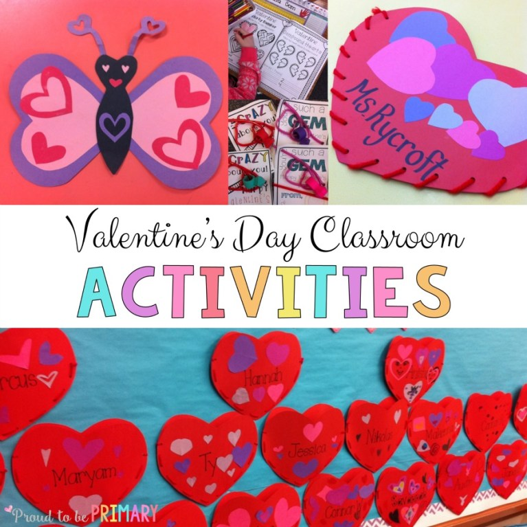 valentine's day activities for elementary school