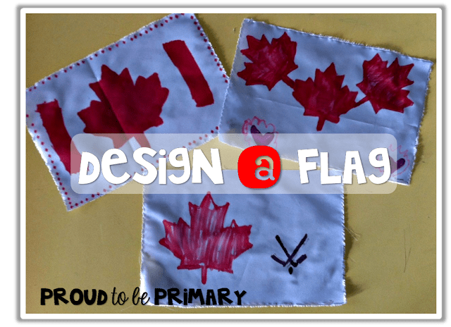 Canadian childrens books - design a canadian flag