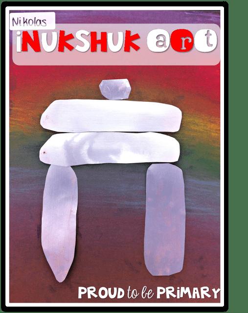 Canadian childrens books - inukshuk art