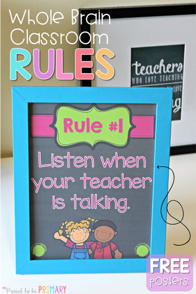 whole brain teaching rules pin