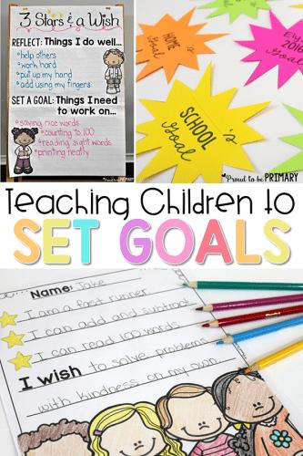 goal setting for kids