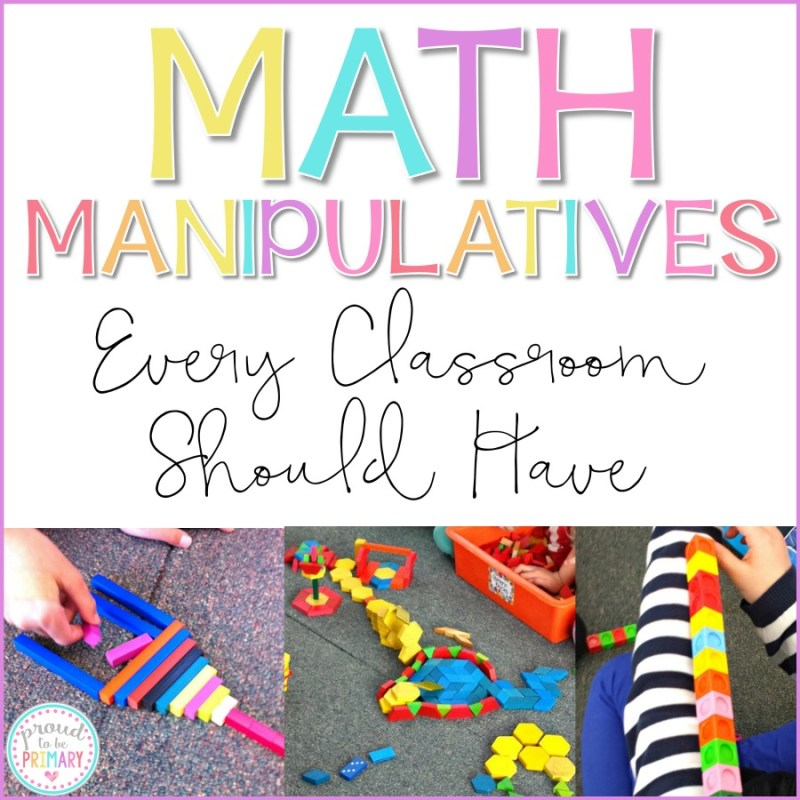 Math Manipulatives Every Classroom Should Have