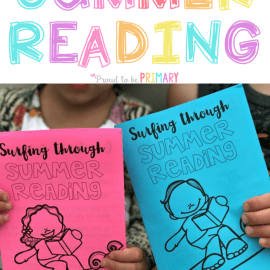 summer reading activities booklet