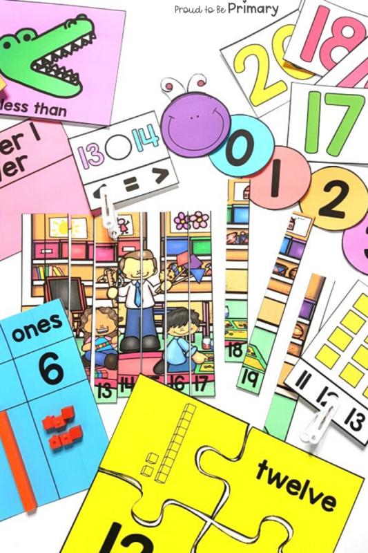 Math Program: Mindful Math Curriculum for Kindergarten, First Grade, and Second Grade at Home or School