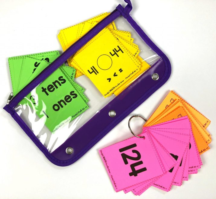 mindful math program second grade mental math flash cards