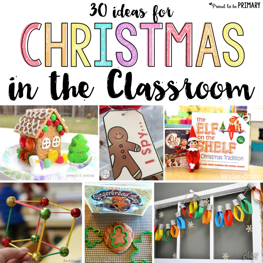 Christmas Classroom Activities That Are Sure To Bring Holiday Cheer Proud To Be Primary
